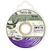 Rattail Cord 3mm 10 Yds With Re-useable Bobbin Dark Purple